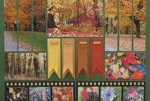 Fall Scrapbook Layouts / Capture the beauty of autumn with Mosaic Moments! Collect many fall scrapbook layout ideas on our board and get ready to scrap!