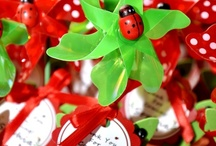 Ladybug Party / Ideas and inspiration on planning a kids ladybug birthday party. Inspiration for decor, party favors, printables, food and birthday cake for a ladybug birthday party.