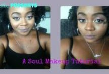 Make Up / I believe make up should be used to explore one's creativity as well as enhance your natural beauty. Make up is Art!