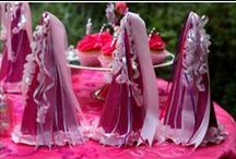 Pink Parties for girls / Ideas for a girls birthday party