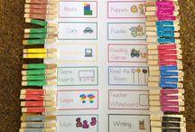 Classroom layouts/ideas
