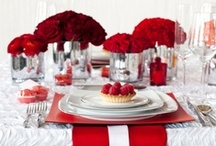 Red & Silver Wedding Inspiration / What better than a beautiful red and silver wedding theme to wow your guests.