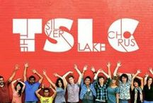 The Silver Lake Chorus / The Silver Lake Chorus is a collection of 24 singers who perform choral arrangements of indie music. Together they exude both the edgy, independent spirit of Silver Lake and the heart of community choral singing. / by The Silver Lake Chorus