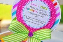 A Rainbow Birthday Party! / Ideas and inspiration for a rainbow birthday party.