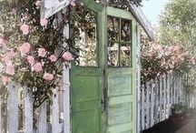 Doors, Gates, Benches, Courtyards to fill your Soul / Elements of home that bring us heart. / by Carol Hopper Art
