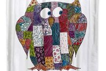OWL SHOWER CURTAINS / Hoot! We love Owls! OWLS are so popular! They are a sign of wisdom! Pick out your own cute owl to add character to your bathroom!