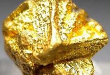 NUGGET. / DIPPED IN GOLD. / by Quinn