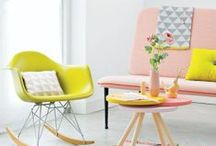 Pastel, Neon & Scandinavian / Basically the interior style for 2013/2014 / by Dionne Noorderwerf