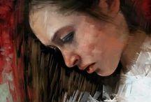 My Digital Painting / Alcuni dei miei lavori. Tecnica di realizzazione digital painting.  Software: ArtRage/Photoshop Tavoletta grafica: Wacom Intuos 4 M