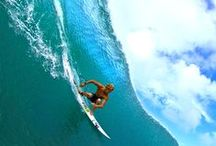 Fluidity / Surfing and body boarding / by Joseph Davis
