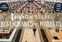 Restaurants + Markets / A collection of articles and posts about the best food scenes around the world, from markets to fine dining.