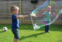 Fun with SES / Playing with SES products is always fun for children