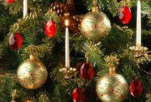 Decoracōes para o Natal / Mistura