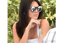 Celebrities in our sunnies / Our favorite celebrities sporting our favorite sunglasses!