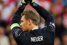 Manuel Neuer and Nina Weiss