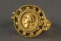 Etruskian, Roman, Byzantinian Jewelry