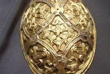 Viking Tortoise Brooch / Oval Fibula