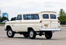 Vehicles: AMERICAN 4x4s (besides Jeeps) / Ford, Chevy, Dodge, Power Wagon, Scout, etc.
