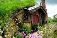 Hobbit Houses / by Eileen Mullay