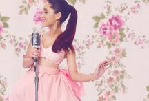 Ariana Grande  / Daydreaming, with my chin in the palm of my hands