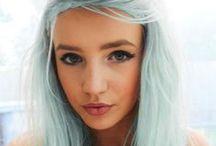 Hair Colors / Saç renkleri, saç şekilleri, saç kesimi