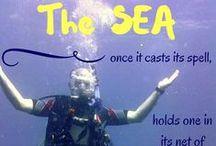 * SCUBA diving