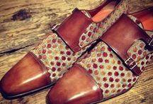 Santoni Shoes Rubelli fabrics