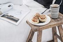 Fika / Fika - is the Swedish tradition of making a proper pause during the day to enjoy coffee or tea and a really good pastry. We love the idea of taking time out during the day to stop and pause!