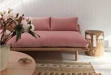 TREND: Soft Blush... / Pantone Colour of 2016 is Rose Quartz...and we've got a crush on blush! Here is some inspiration for using the colour in your home...