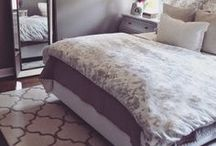 Bedroom Ideas / inspirations on creating a beautiful sanctuary in your bedroom