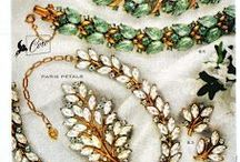 Vintage Costume Jewelry Ads / Mid-Century jewelry advertising. / by Bella Murano