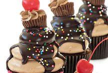 Food- Cupcakes / Cupcakes, muffins well you got it. Kuppikakkuja, muffinseja.