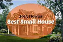 2013 Howies : Best Small House / (Best house under 1500 sft). VOTE by pinning or liking your favorite small house plan in this category or you can nominate your own favorite small house plan by emailing us at awards@houseplans.com! / by Houseplans LLC