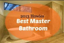 2013 Howies : Best Master Bathroom / VOTE by pinning or liking your favorite master bathroom in this category or you can nominate your own favorite master bathroom plan by emailing us at awards@houseplans.com!