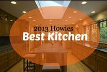 2013 Howies : Best Kitchen / VOTE by pinning or liking your favorite kitchen in this category or you can nominate your own favorite kitchen plan by emailing us at awards@houseplans.com!