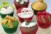 Cupcakes - christmas
