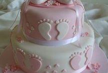 Cakes - baby birth