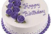 Cakes - birthday
