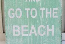 Beach Chic & Beach Slapped / Beach chic, casual living decor, Beach lifestyle www.getbeachslapped.com / by Lisa Morgan