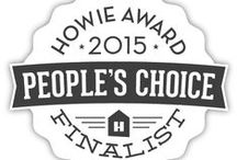 2015 Finalist: People's Choice / CAST YOUR VOTES FOR THE 2015 HOWIE PEOPLE'S CHOICE AWARD!  1 PIN= 1 VOTE,  1 LIKE= 1 VOTE