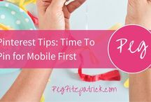 ☞ Pin Pin Pinterest Business Tips ☜