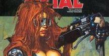 Heavy Metal Magazine Covers