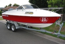 Haines Hunter V17L / Haines Hunter V17L dive boat, plus associated boat and diving gear