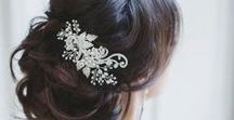 Wedding Hair Ideas / Beautiful hair style ideas for your big day