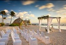 Weddings In Mexico & The Caribbean / A collection of images from weddings hosted at our Mexico and Caribbean resorts. Start planning your dream destination wedding: http://www.paradisebymarriott.com/weddings