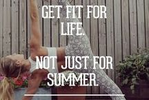 Fitness / Yoga. Cardio. Abs. Strength. Muscle. The fit life is a great life.