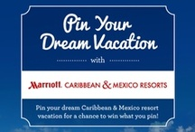 Pin Your Dream Vacation / This contest has now closed. Thank you to everyone who participated!