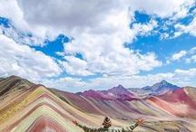 South America Travel Inspiration / Hike the Andes or surf the beaches of Chile. Backpack through Peru or Party in Brazil. Explore culture in Argentine and beaches in Chile.