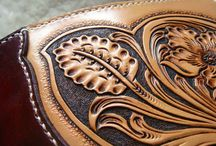 Leather Craft / Ideas in leather. / by Lenny Ray