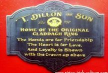 The Claddagh Ring / The world-famous Claddagh Ring from Galway, Ireland, (sometimes mistakenly called Claddaugh, Cladaugh, Cladagh, or even Clada ring)